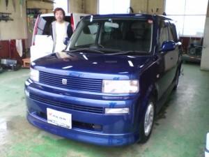 トヨタ bB ブルー 中古車